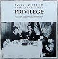 Ivor Cutler and Linda Hirst: Privilege