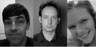 Andrew Collins, Paul Hitchman, Claire Tchaikowski
